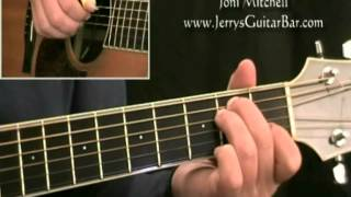 How To Play Joni Mitchell Marcie (intro only)