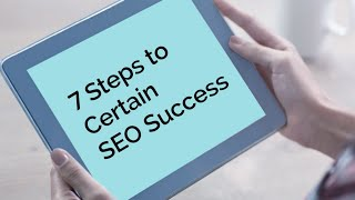 7 Steps to SEO Success in Ottawa & Canada