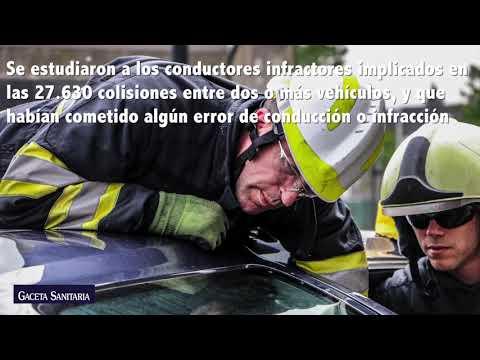 Asociación del tipo de vehículo con el riesgo de provocar una colisión entre vehículos
