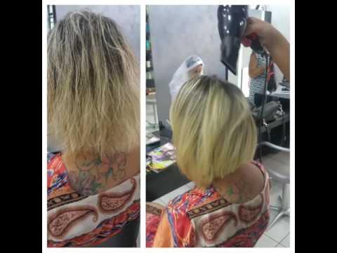 Tintura da una perdita di capelli in una farmacia