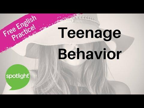 Teenage Behavior | practice English with Spotlight