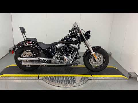 Used Low Mileage Softail Slim FLS For Sale 2014