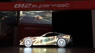 Así fue la presentación del Ferrari 812 Superfast en México