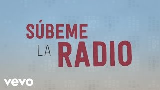 Subeme La Radio (Letra) - Enrique Iglesias (Video)