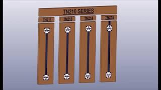 TN 200 ajtólapfeszítő szerelési videó