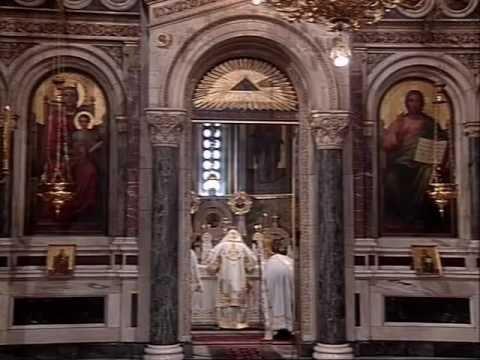 Πεντηκοστή 2007 Αρχιεπίσκοπος Χριστόδουλος