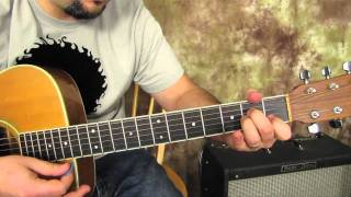 Secondhand Serenade - Fall For You - Easy Beginner Acoustic Songs Guitar Lesson