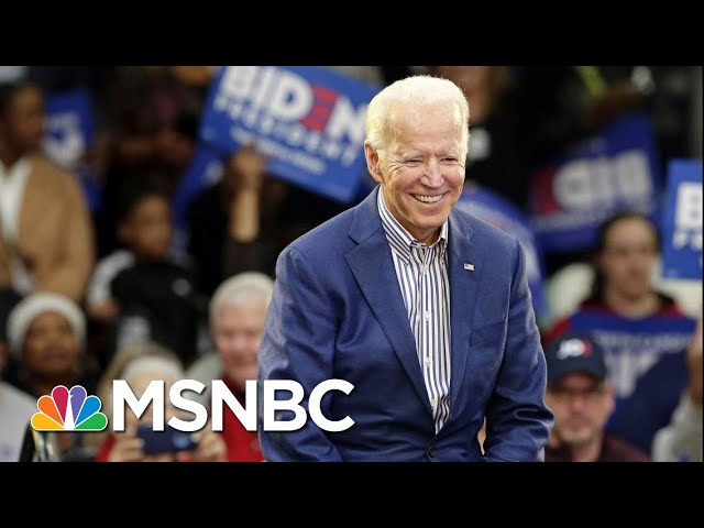 Joe Biden: 'More Than One African-American Woman' Being Considered For VP | MTP Daily | MSNBC