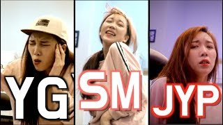 SM/YG/JYP impressions UPGRADE🔥/ the big 3 k-pop entertainments