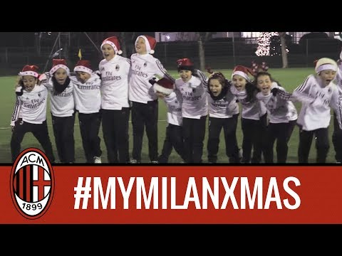 #MyMilanXmas: greetings from our Youth Sector