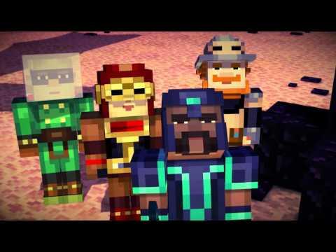 Vídeo do Minecraft: Story Mode