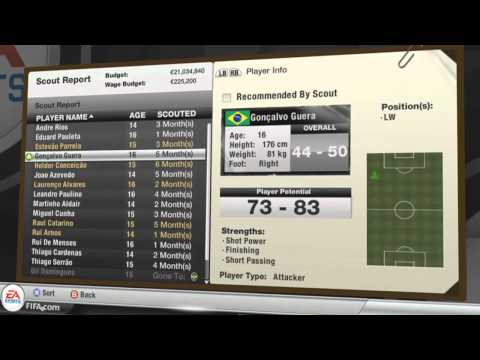FIFA 12 Allows You to Setup Your Own Youth Academy & Scout Players
