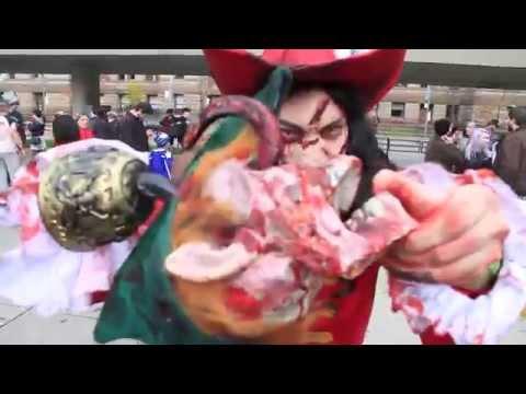 Zombie Walk - Halloween 2014