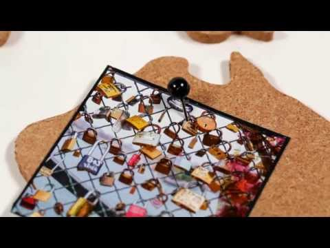 Youtube-Video zur Corkboard Map Pinnwand von Luckies