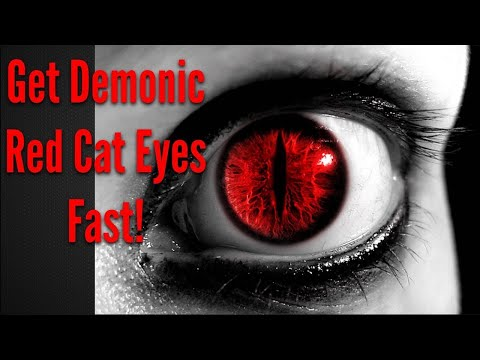 Get Demonic Red Cat Eyes Fast! Subliminals Frequencies Hypnosis Spell Biokinesis -- Frequency Wizard