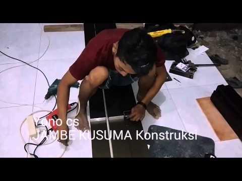 Video Cara Membuat Kusen Aluminium