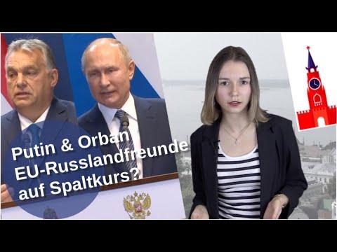 Putin & Orban: EU-Russlandfreunde auf Spaltkurs? [Video]