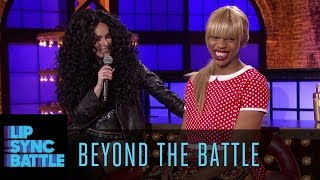 See what Rumer Willis Yazz The Greatest had to say about their epic Lip Sync Battle