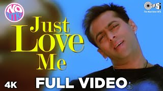 Just Love Me Full Song Video - No Entry   Salman   - YouTube