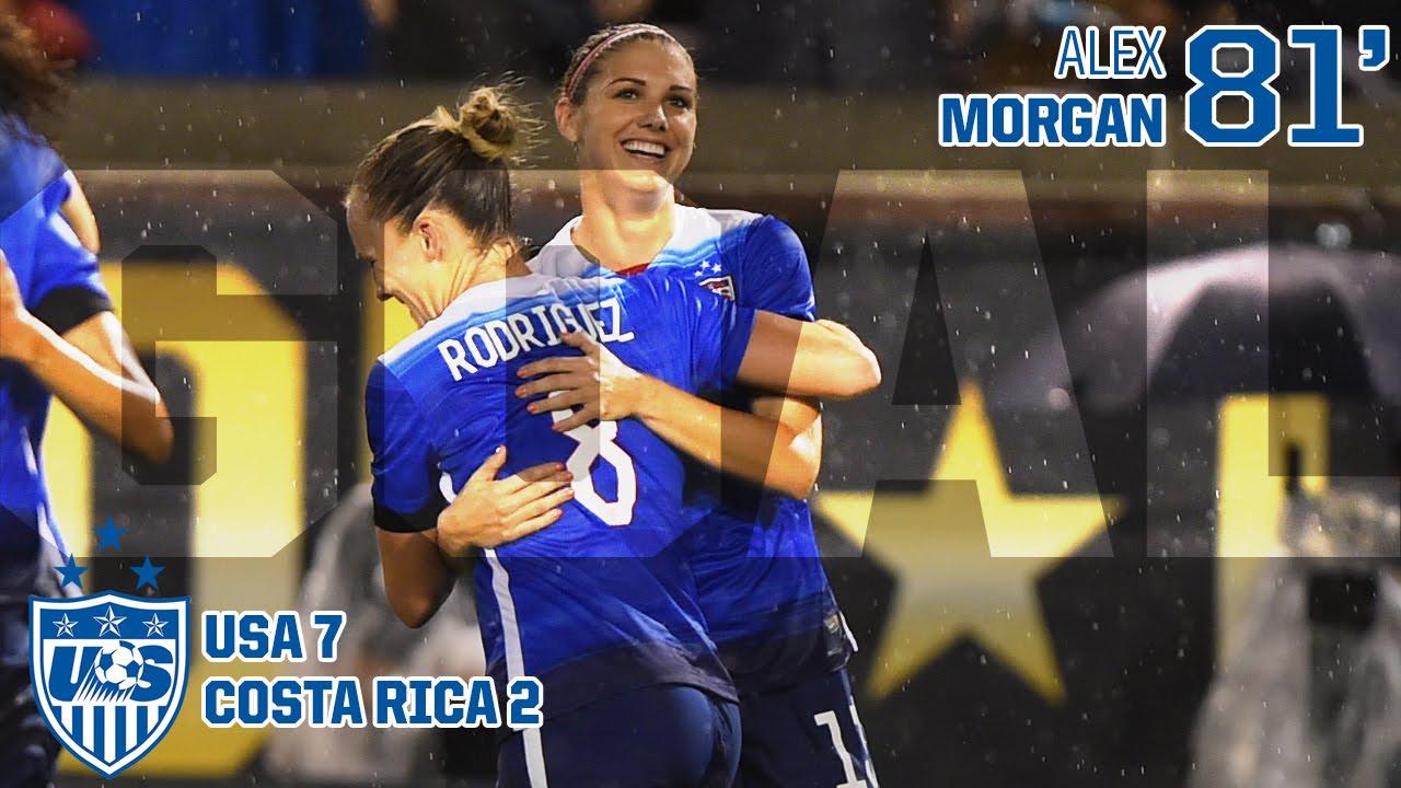 WNT vs. Costa Rica: Alex Morgan Goal – Aug. 19, 2015