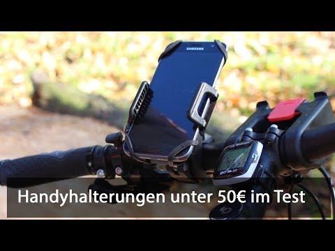 Fahrrad Handyhalterungen unter 50€ im Test
