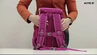 """Рюкзак дошкольный Kite K19-542S-2 от компании Интернет-магазин """"Радуга"""" - школьные рюкзаки, канцтовары, творчество - видео"""