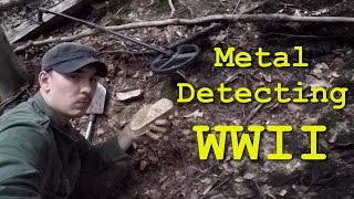 Metal Detecting WW2 Hürtgen Forest - German Position - Battlefield Relics