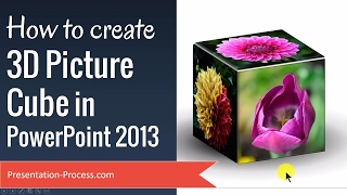 How To Create 3D Picture Cube In PowerPoint 2013