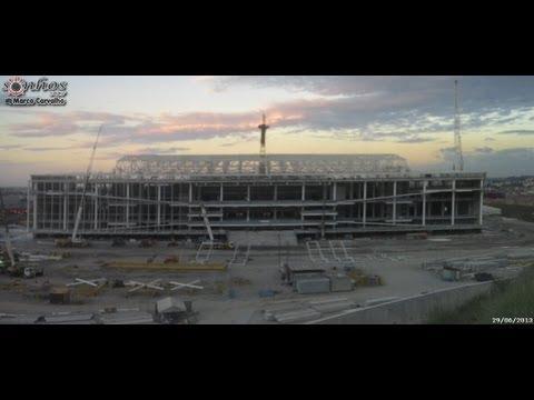 Arena Corinthians entra em fase de conclusão