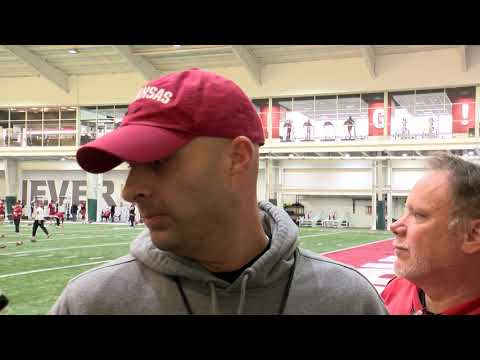 Barry Lunney Jr. Pre-Practice Interview 11-13-19