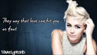 Miley Cyrus - My Darlin' (Ft. Future) - Lyrics