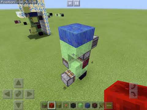 Minecraft Bedrock Slime Block Elevator 1 8 Tutorial Smotret