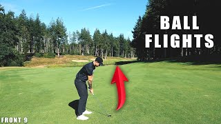 Unreal Ball Flights, Unreal Golf Course!!! | Front 9