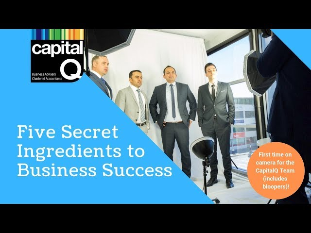 CapitalQ news: Five Secret Ingredients to Running a Successful Business