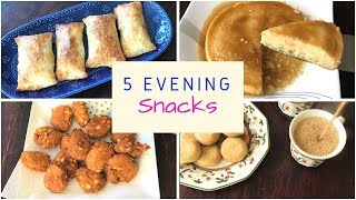 5 TASTY EVENING SNACK Ideas For Kids