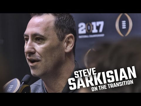 Steve Sarkisian on the transition and his relationship with Jalen Hurts