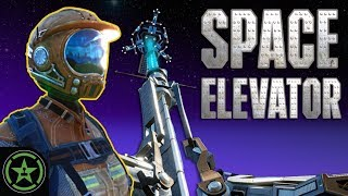 WE MAKE A SPACE ELEVATOR! - Satisfactory (Part 2) | Let's Play