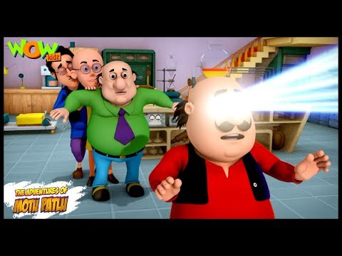 Motu Eraser - Motu Patlu in Hindi - 3D Animation Cartoon for Kids -As seen on Nickelodeon