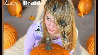 Halloween Hairstyle Spider Lace Braid