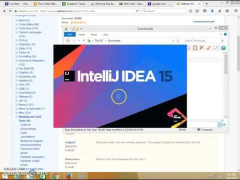 Create UMLDiagram with SimpleUML IntelliJIDEA