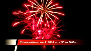 preview picture of video 'FK-2009 Silvester 2014 aus 50m Höhe in Kohlscheid'
