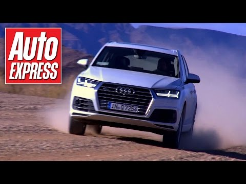 New 2015 Audi Q7 takes on the Namibian desert