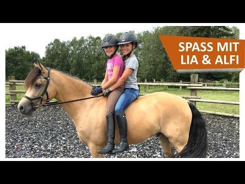 Mega Pferde Spaß mit Lia & Alfi