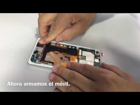 Cambiar pantalla Xperia Z2
