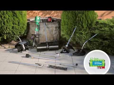 Güde Li-Ion Gartengeräte 36 V