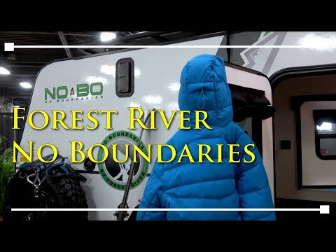 2018 Forest River RV No Boundaries NOBO Travel Trailer - RVingPlanet.com First Look at New RV