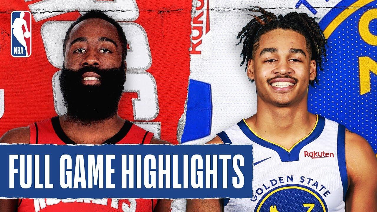 Houston Rockets vs Golden State Warriors [Thu, Feb 20, 2020]