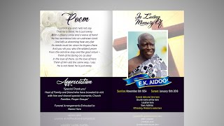 How To Design An Obituary Card | Photoshop Tutorial