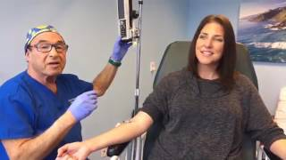 Watch a live IV and process of Ketamine infusion therapy | Ketamine Clinics of Los Angeles