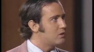 Andy Kaufman on Van Dyke and Company Fonzie Look A Like Contest  1976